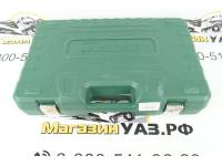 Набор инструментов 128 предметов (зеленый кейс)