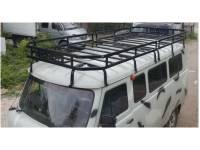 Багажник Викинг на УАЗ 452, 16 опор, 2-ух секционный