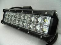 Фара светодиодная 54W 18 диодов по 3Вт, комбинированный свет.