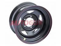 Диск колесный стальной УАЗ OFF-ROAD Wheels 1680-53910 BL -25 A15 (черный)